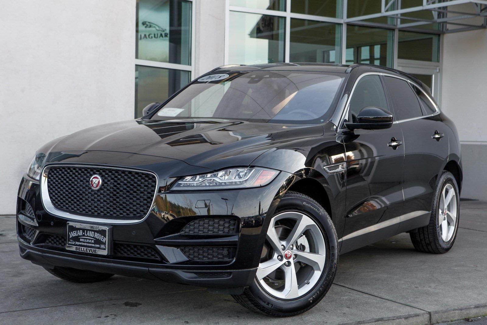 certified pre-owned 2018 jaguar f-pace 20d prestige sport utility in